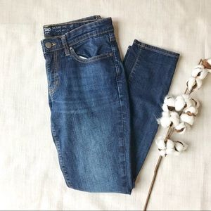 Gap Skinny Jeans Mid Rise Dark Wash 6 Denim